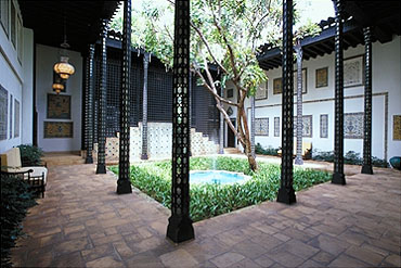 Central Courtyard at Shangri La